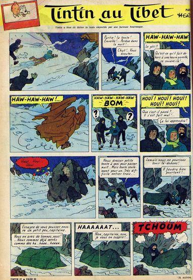 Tintin au Tibet - page 43