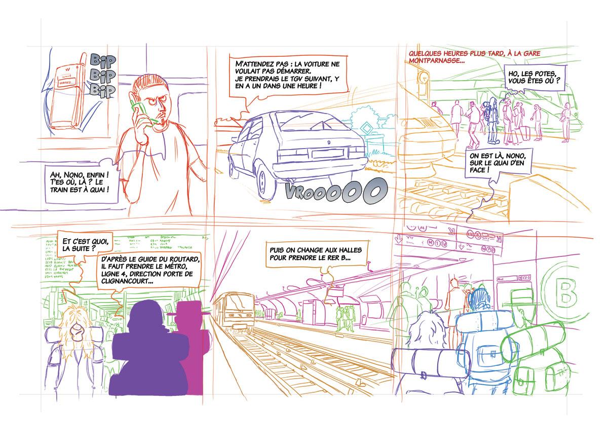 Planche 05 - crayonné
