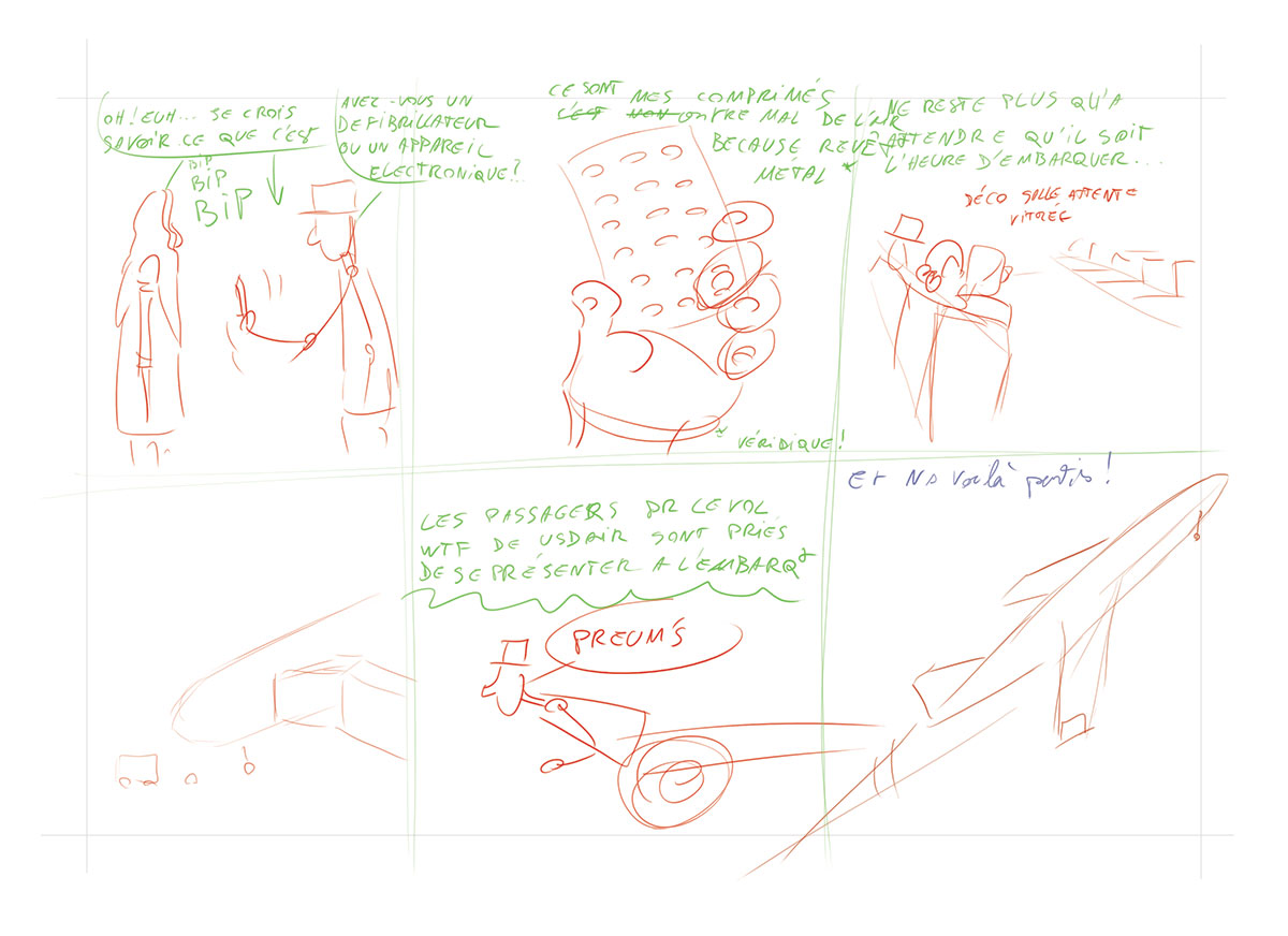 Storyboard planche 8