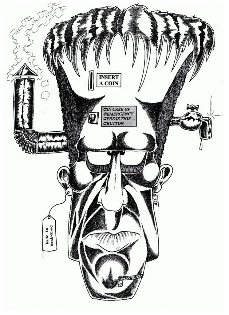 Frankenstein creature