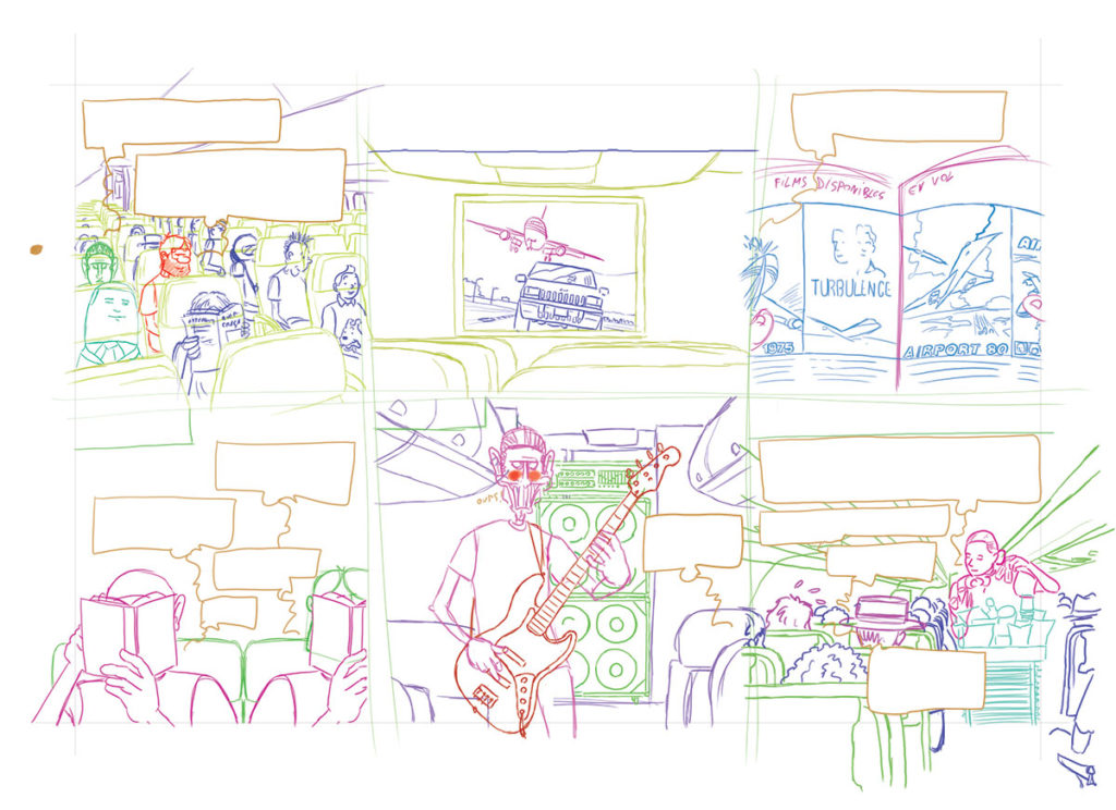 Crayonné planche 09