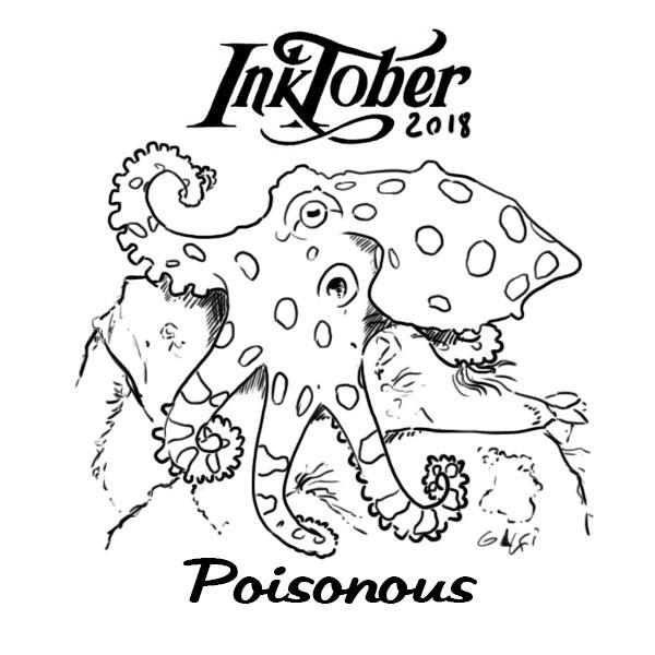 inktober2018 - poisonous