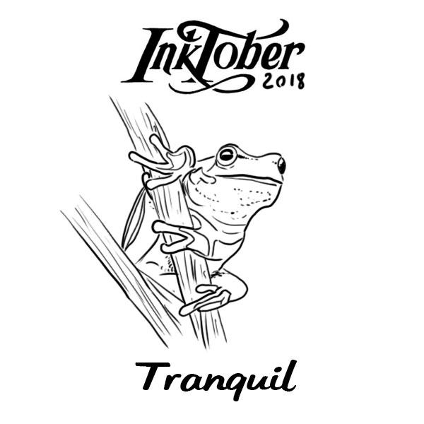 Inktober2018 - Tranquil